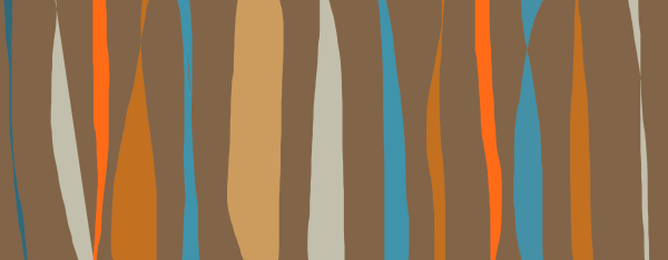 Midcentury abstract strokes 2